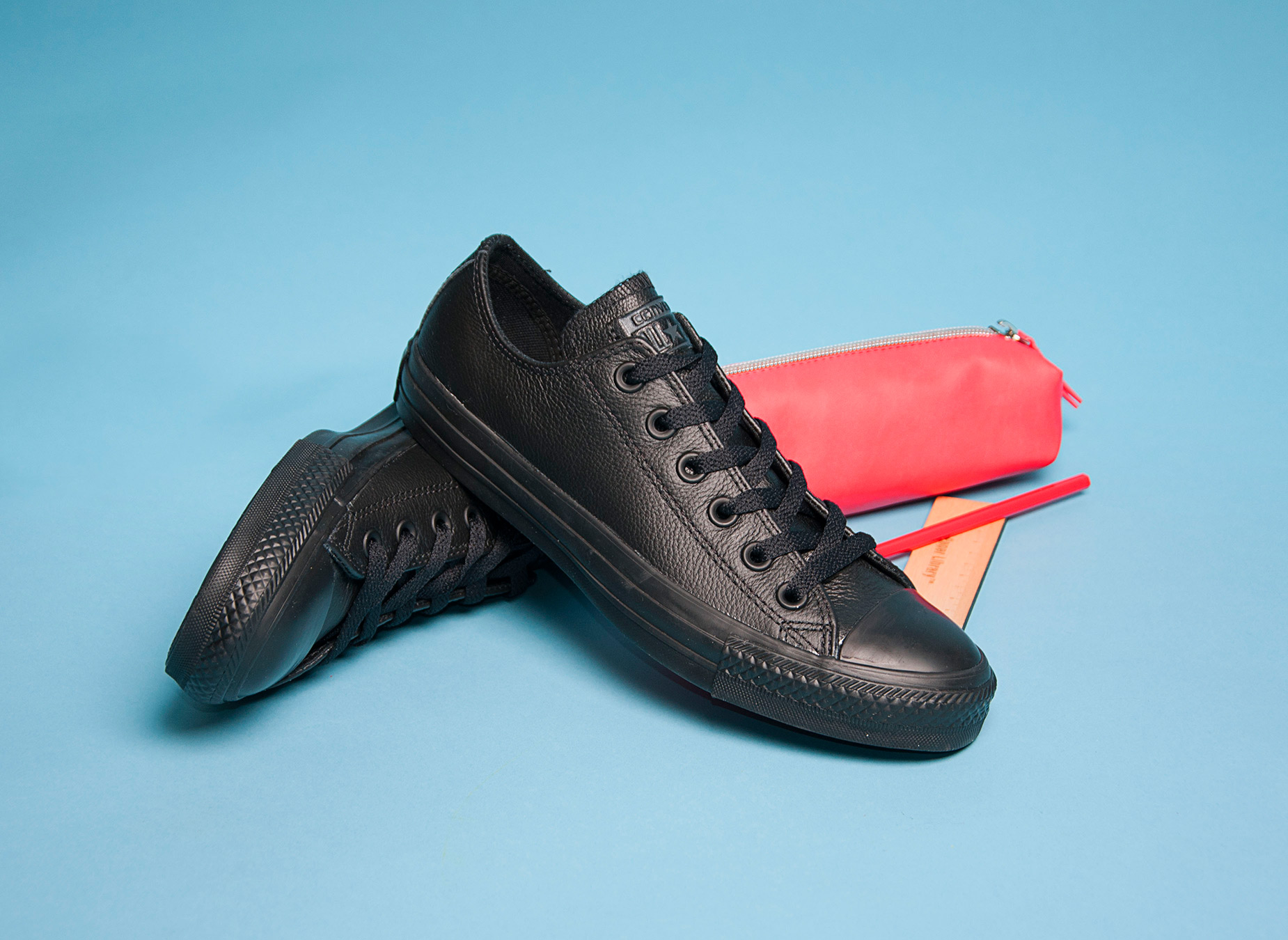 All Black Trainers for Back To School