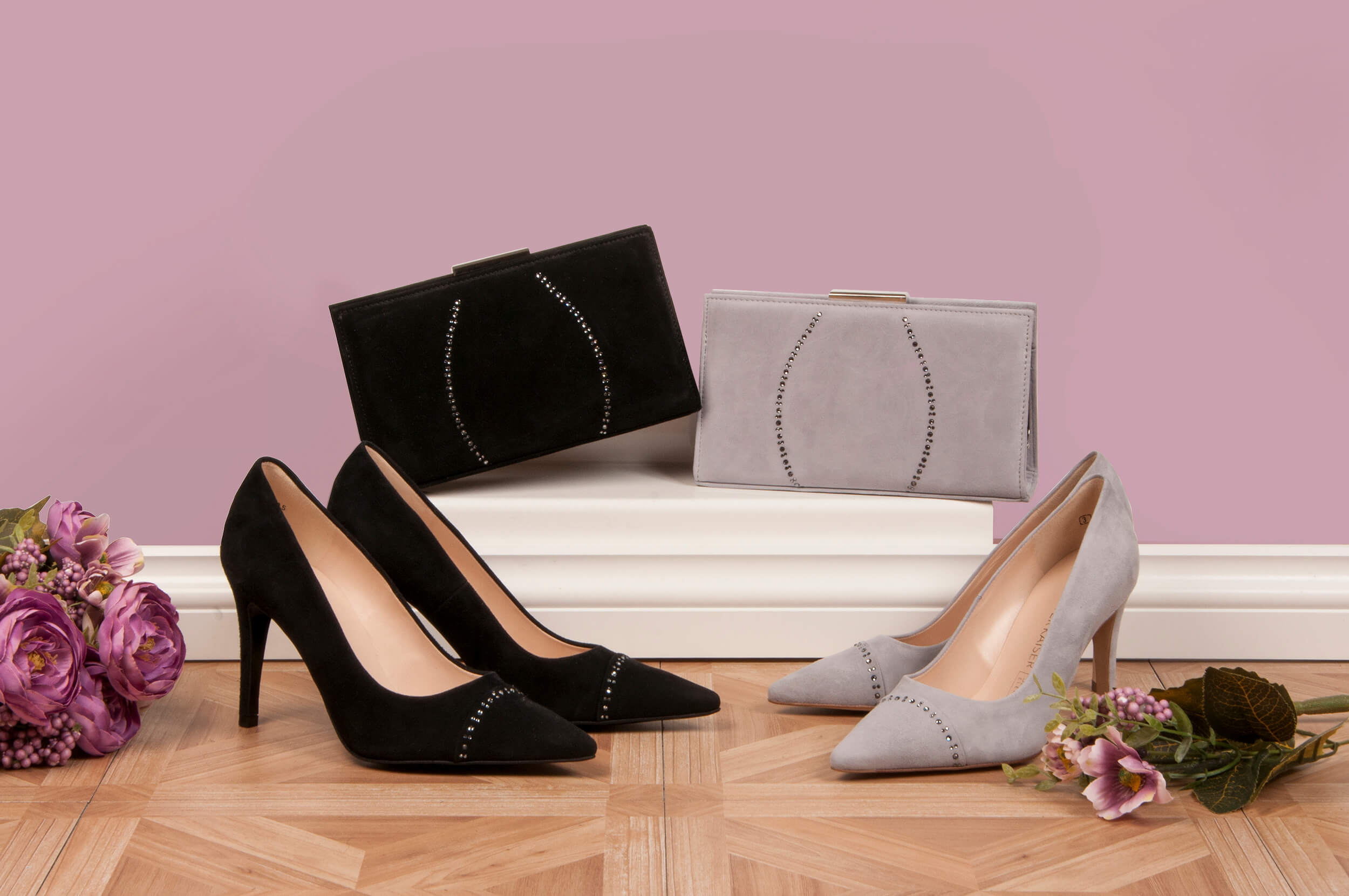 Occasion shoes and matching bags
