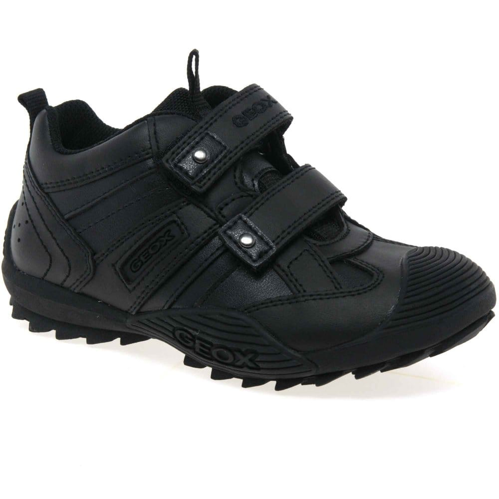 Geox Savage School Shoes | Boys Leather