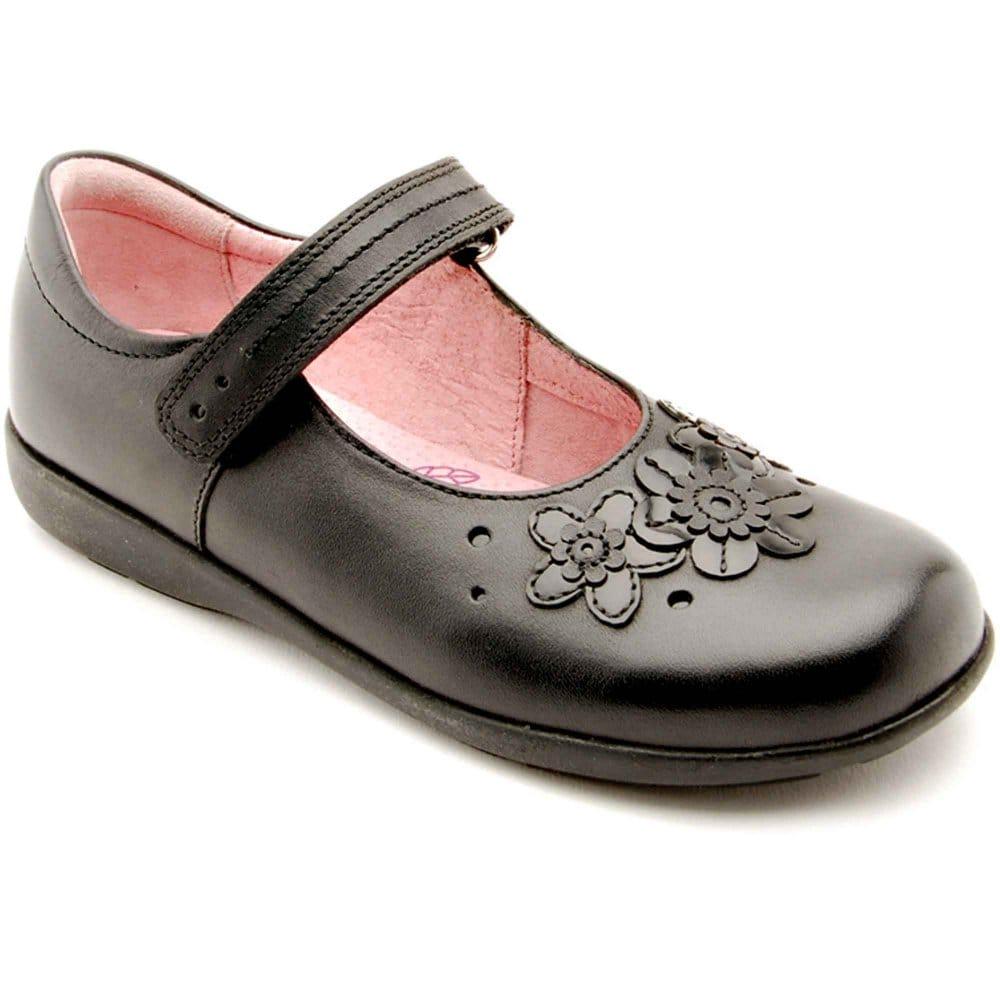 Girls Wide Fit School Shoes