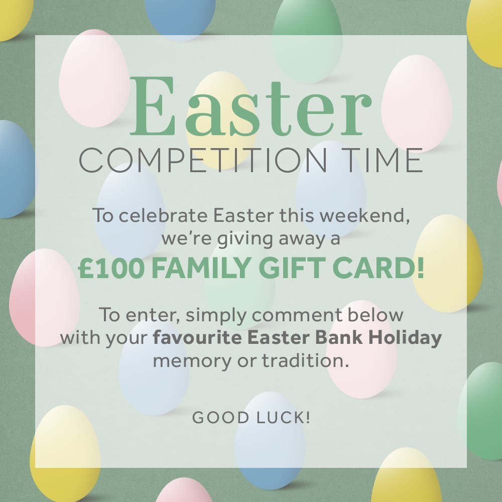Easter competition win a 100 gift card home blog to celebrate easter this weekend were giving away a 100 family gift card to be in with a chance of winning simply comment on this post with your negle Images