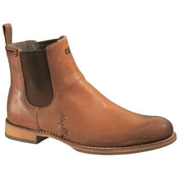 cat zachary brown leather s chelsea boots from
