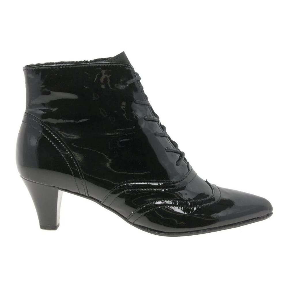 Gabor Dash Lace-Up Ankle Boots