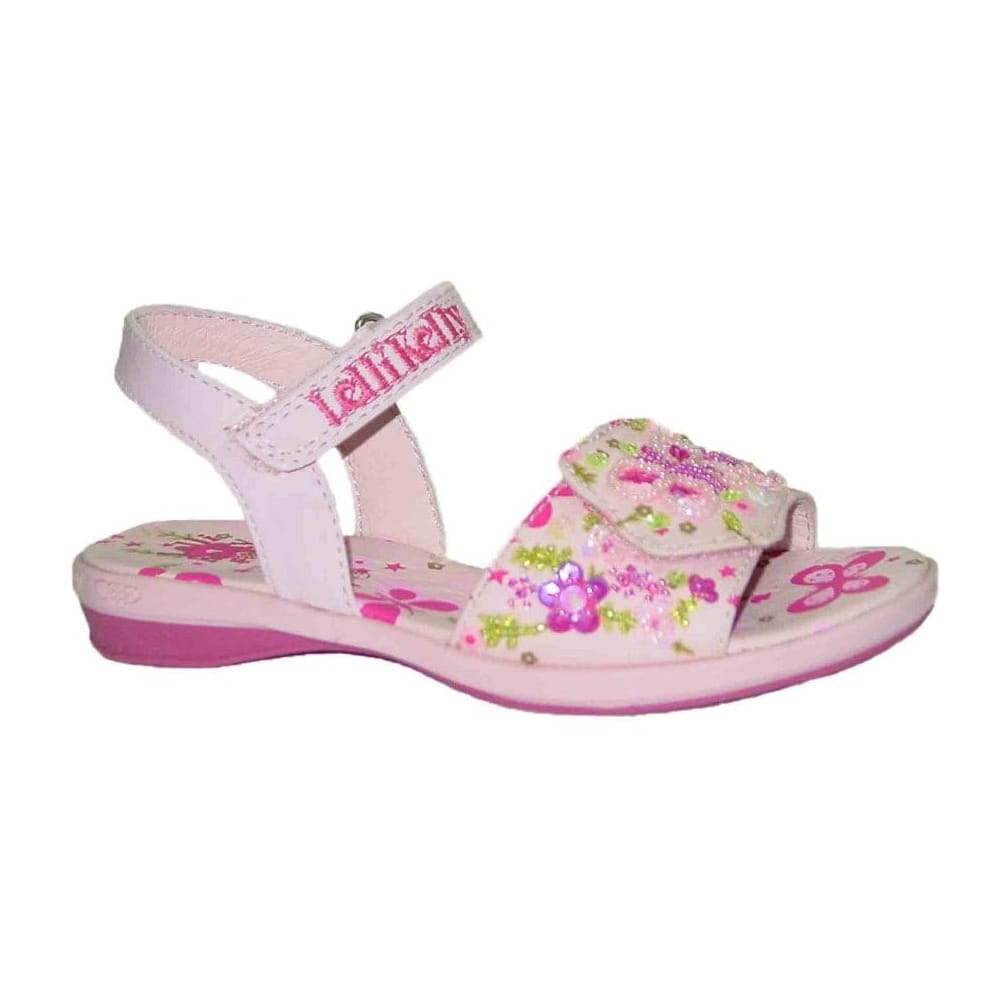 Lelli Kelly Butterfly Velcro Girls Sandals
