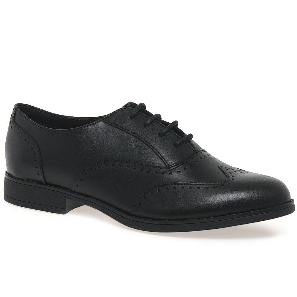 Lotus Black Shoes