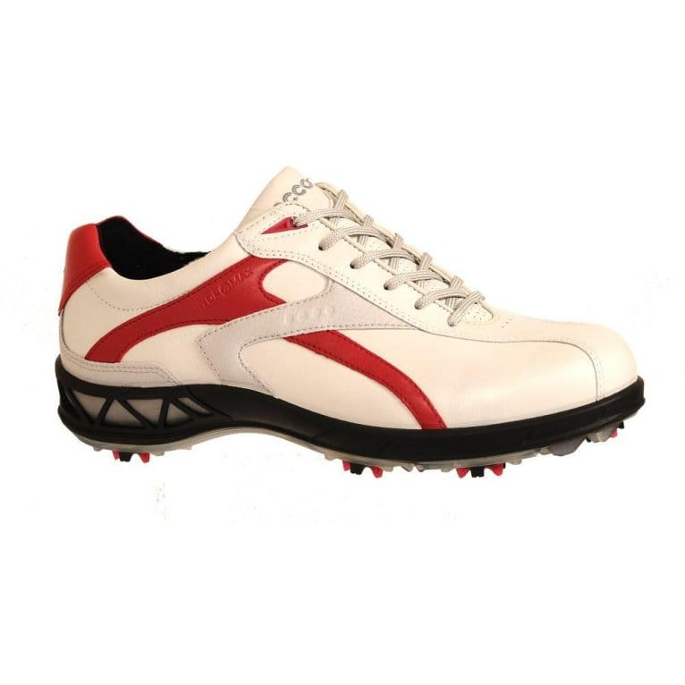 Home : Women : Trainers : Ecco : Ecco White/Red Ladies Golf