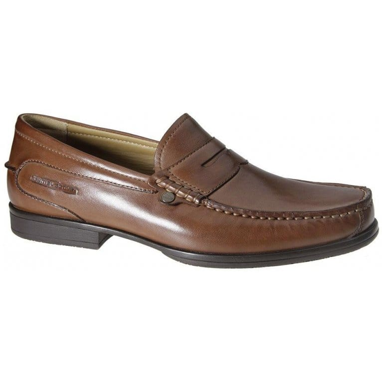 Camel Active  Penzance Brown Leather Loafers