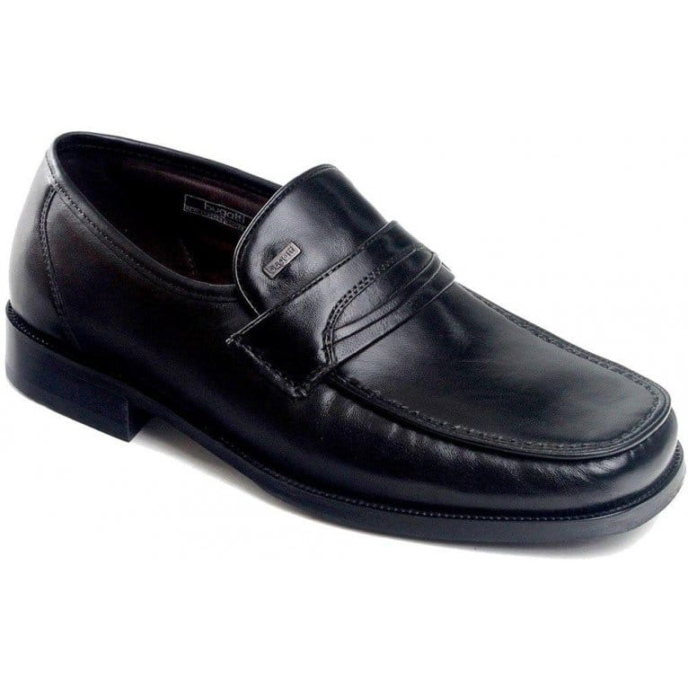 bugatti chives mens leather slip on shoes from