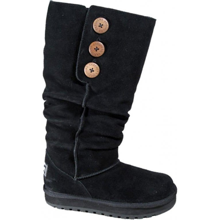 skechers keepsakes brrr suede boots from