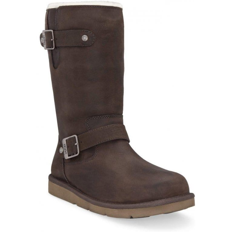 ugg kensington brown leather calf boots 5678