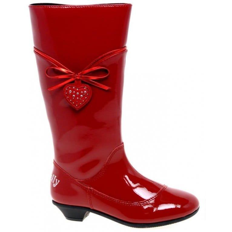 Lelli Kelly Deborah Girls Patent Leather Long Boots