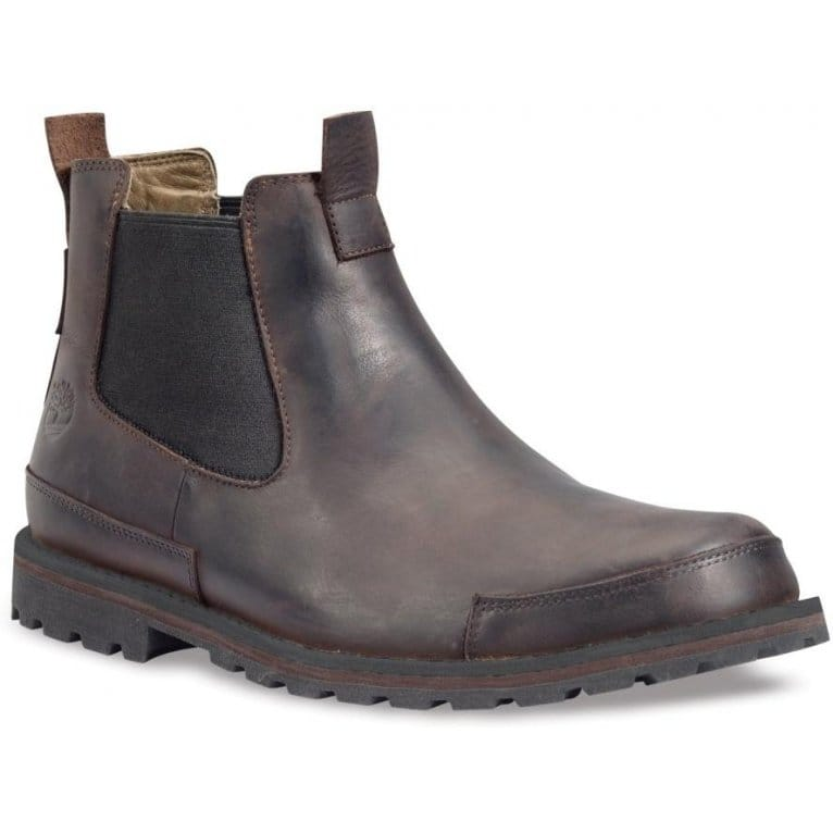 timberland earthkeeper brown leather chelsea boot
