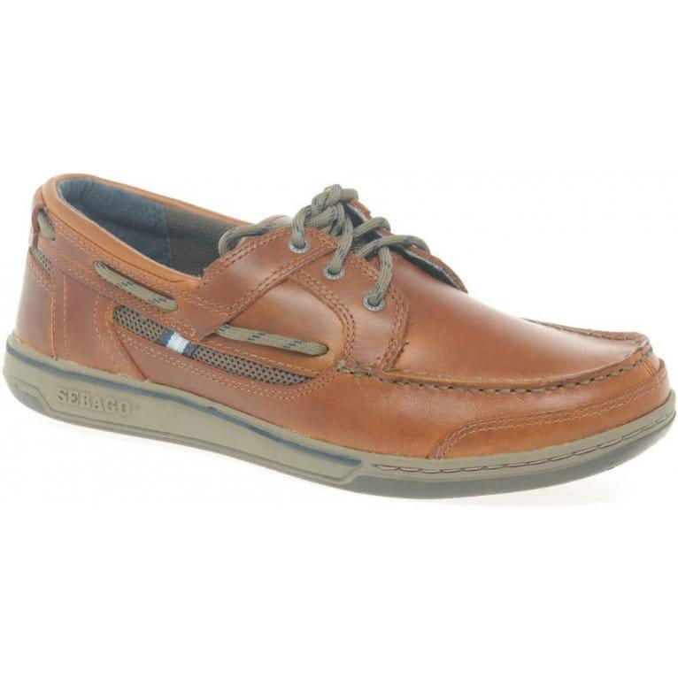 Triton Three Eye Mens Boat Shoes
