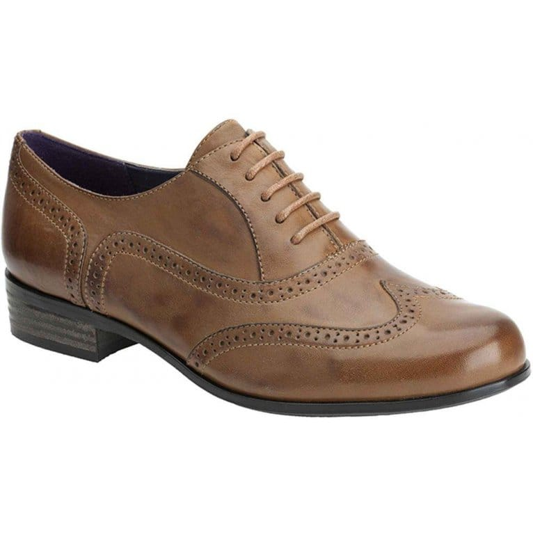Hamble Oak Womens Lace Up Brogue Shoes