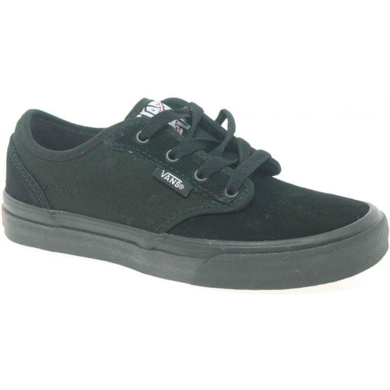 vans new atwood velcro black school shoes nz