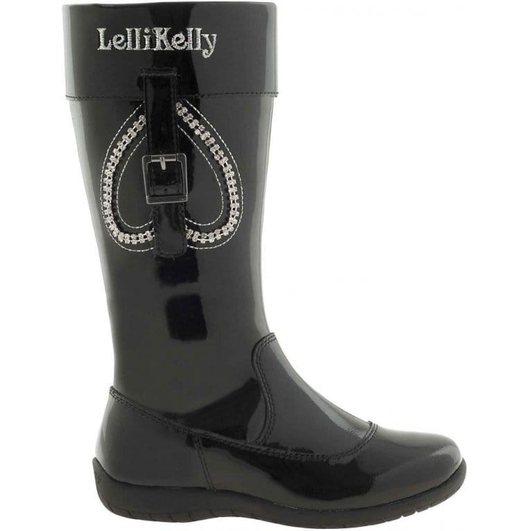 Lelli Kelly Lara Girls Patent Long Boots