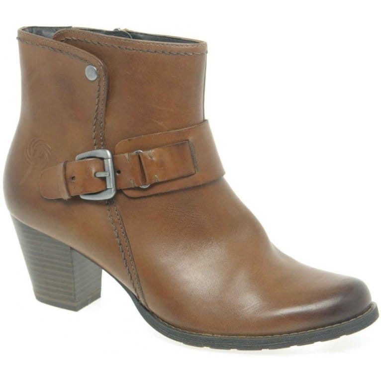 marco tozzi fletcher womens leather ankle boots