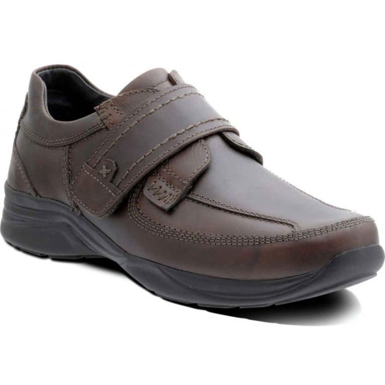 padders ranger mens casual velcro fastening shoes
