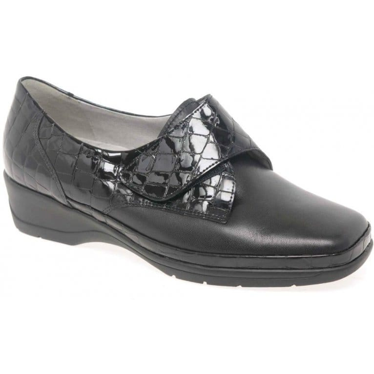 Crackle Womens Velcro Fastening Casual Shoes