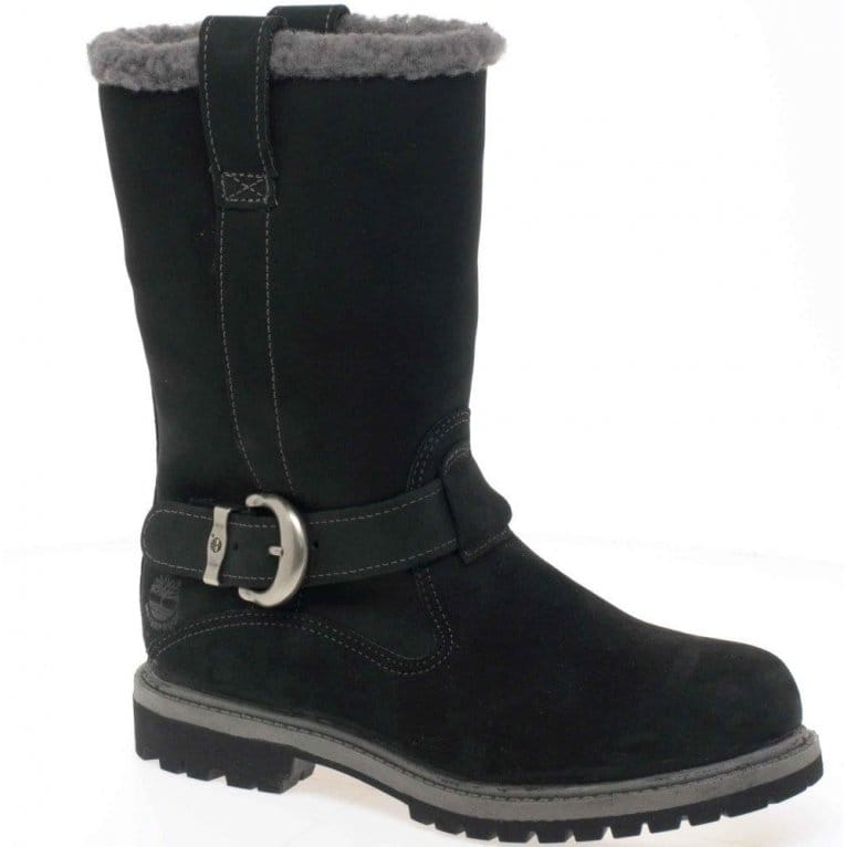 timberland nellie pull on womens calf boots charles clinkard