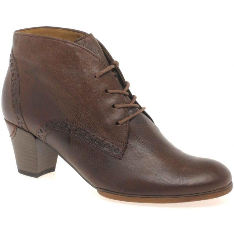 gabor jayse ankle boots leather lace up charles clinkard