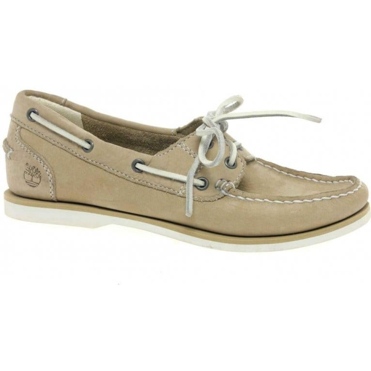 timberland classic womens lace up boat shoes from