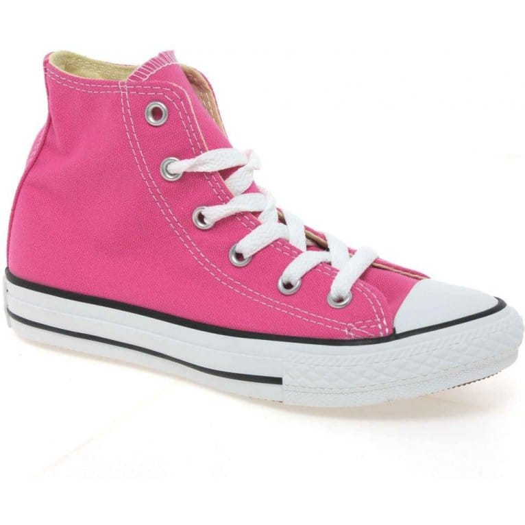 All Star Hi Girls Lace Up Canvas Boots