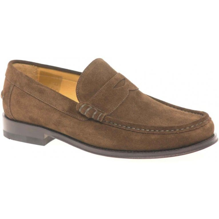 loake kingston mens slip on suede shoes from charles