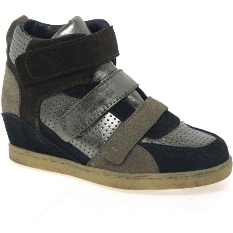 Boogie Girls Concealed Wedge Trainers