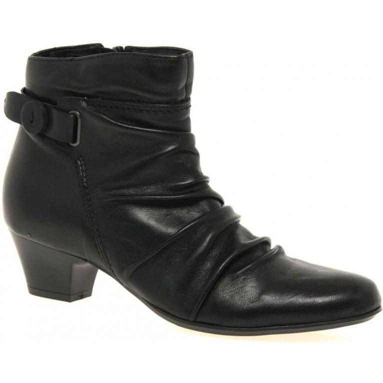 Scrunch Womens Ankle Boots