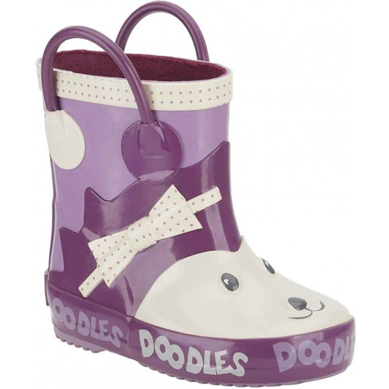 Woodland Trail Girls Wellington Boots