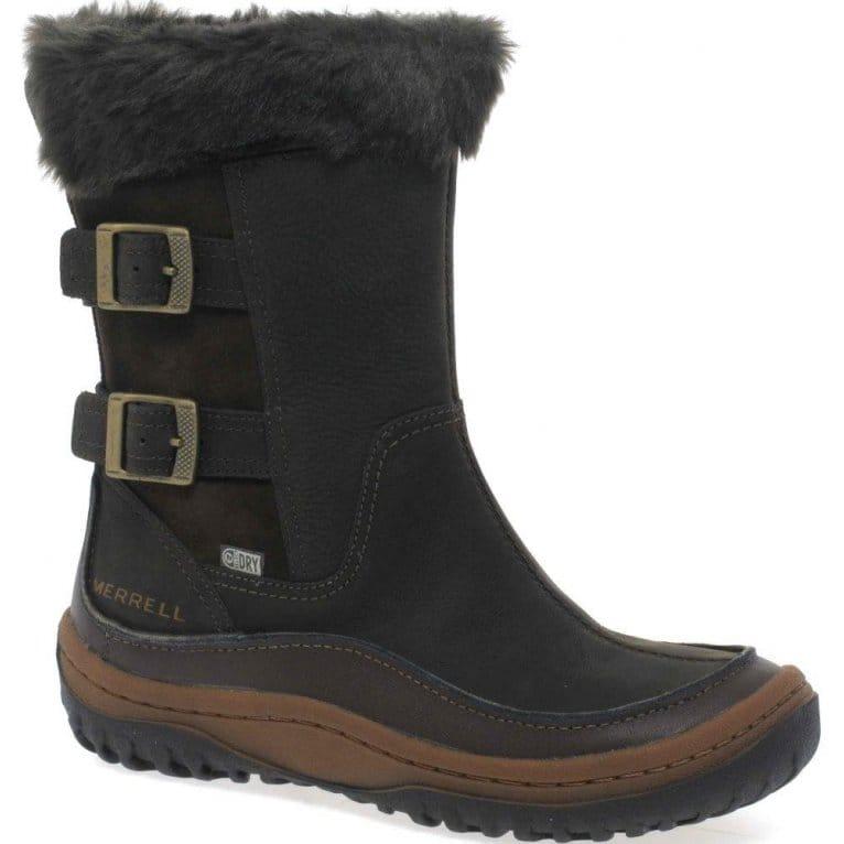 merrell decora chant womens waterproof calf boots