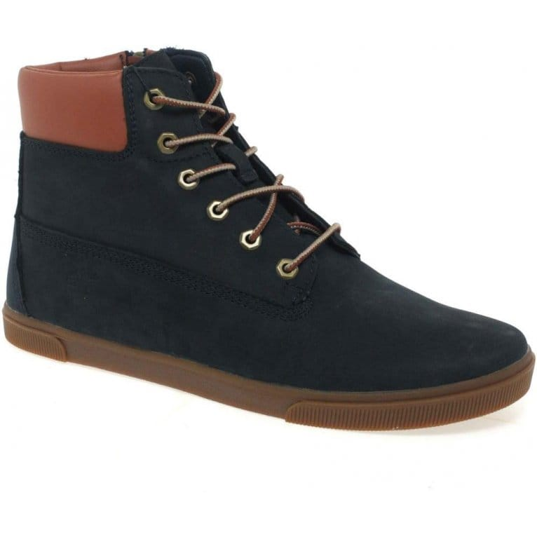 timberland slim cupsole boys lace up ankle boots charles