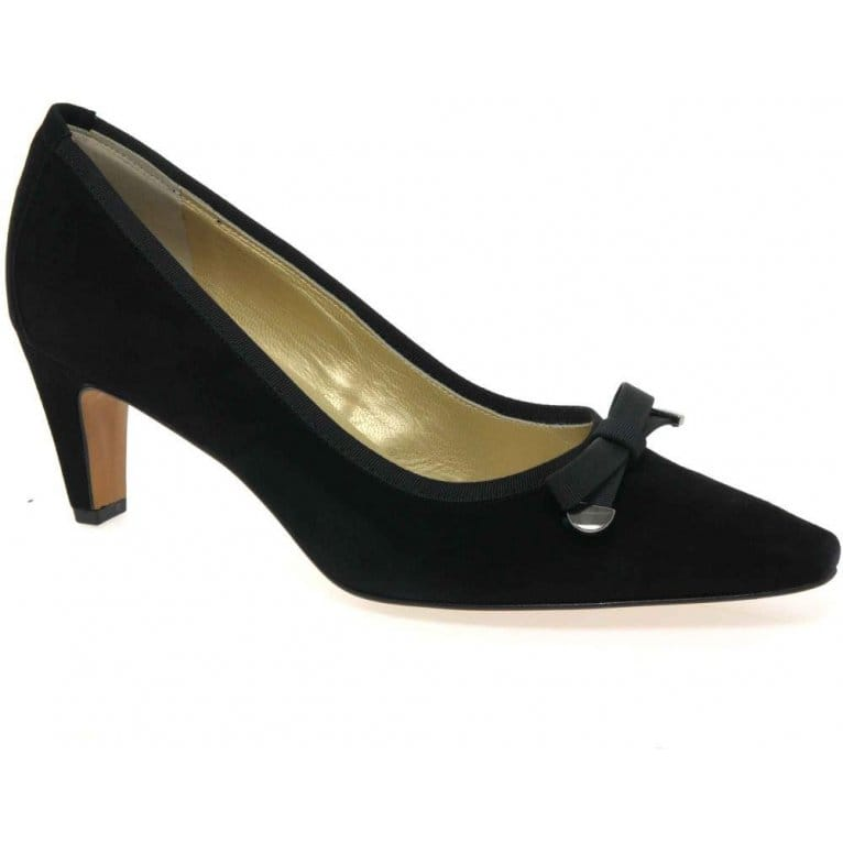 Maira Womens Suede Court Shoes