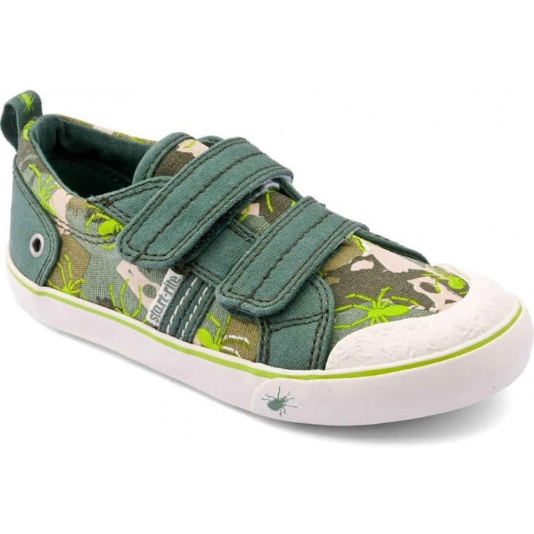 Venomous Boys Rip-Tape Canvas Shoes