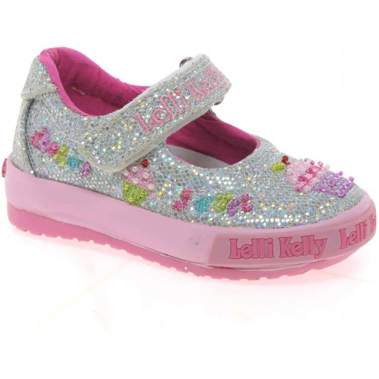 Lelli Kelly Elsie B Dolly Girls Canvas Shoes
