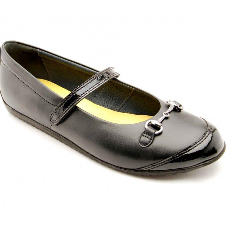 Aurora Girls School Shoes