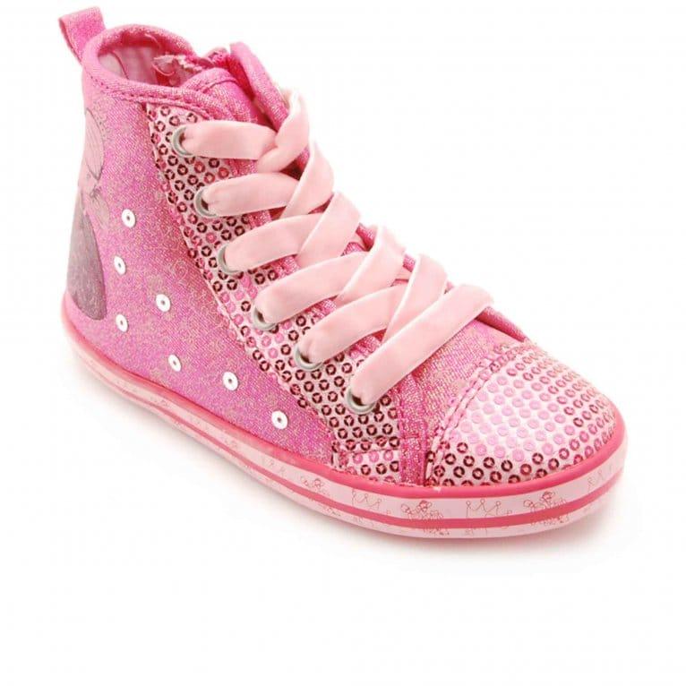 Princess Alexia Infant Girls Canvas Boots