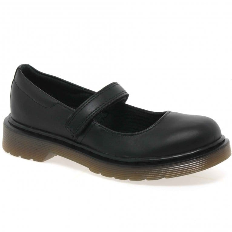 dr martens mary jane shoes black leather charles clinkard. Black Bedroom Furniture Sets. Home Design Ideas