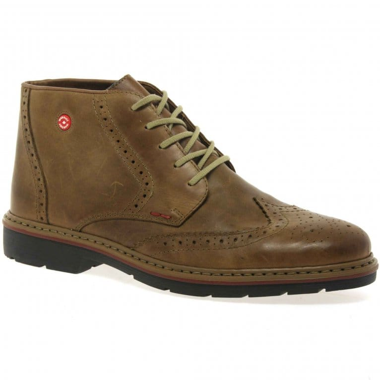 West Mens Lace Up Casual boots