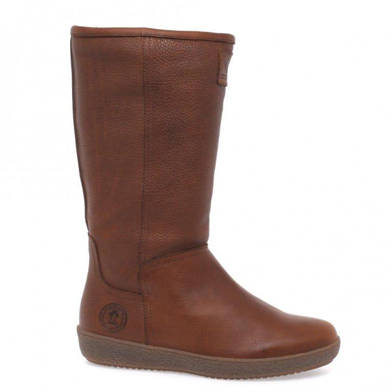 Amazing Panama Jack Womens Brown Waterproof Ankle Boots