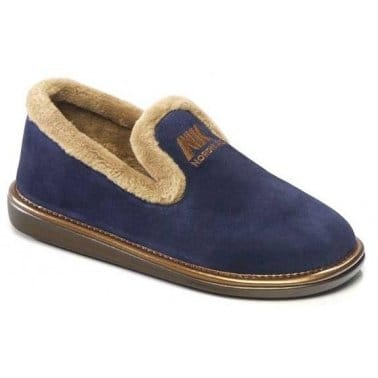 Nicola II Suede Ladies Slippers