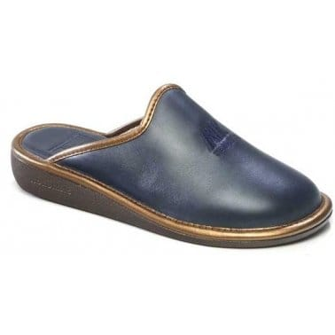 Naomi II Leather Ladies Slippers