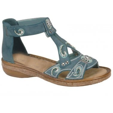 Rieker Rhea 62886 Ladies' Fashion Sandal