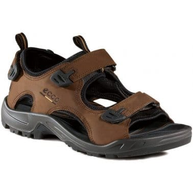 Ecco Andes Nubuck Mens Sandals