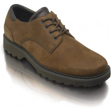 Rockport Northfield Espresso Nubuck Leather Mens Shoes