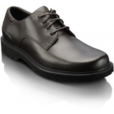 Rockport Northfield Dark Brown Leather Mens Shoes