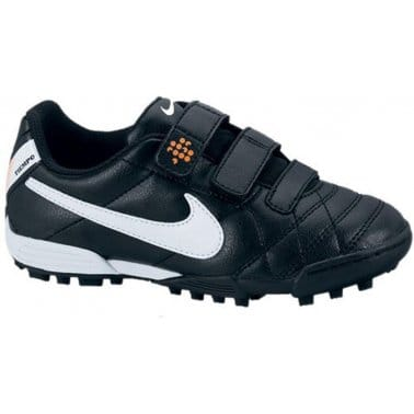 Nike Turf Boys' Jr Tiempo V3 Black Sport Shoe 454320