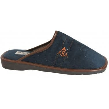 Dunlop Harry Mens' Navy Blue Slippers