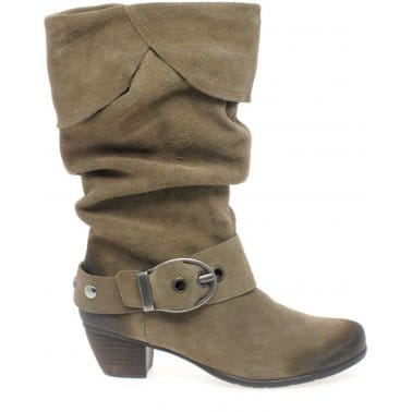 Dorndorf Annie Ladies Suede Calf Length Boots R9173